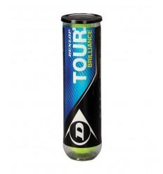 Pelotas Dunlop Tour brillance 4ud