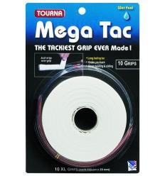 Mega Tac Blanco 10 Unidades