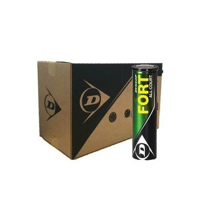 Caja 72 pelotas Dunlop Fort All Court